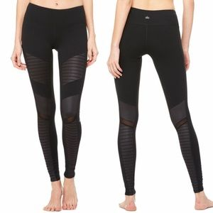 Alo Yoga Black Moto Leggings Size Medium